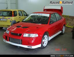 mitsubishi lancer evo 6 mitsubishi lancer evo 6 gr n rally cars for sale at raced