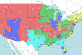 Map Jacksonville Florida by Jaguars Vs Texans Week 1 Tv Viewing Map On Cbs Big Cat Country