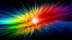 colorful abstract rainbows walldevil