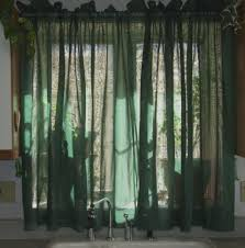 Blue Green Sheer Curtains Curtain Green Drapes Green Sheer Curtains Green