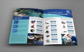 brochure templates drive auto parts brochure auto parts catalog bi fold brochure template