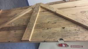 Barn Wood Basement Reclaimed Wood Bathroom Door Furst Woodworking