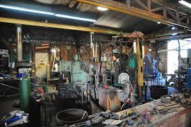 blacksmith s shop at the ornamental metal museum