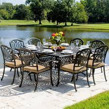 Cast Aluminum Patio Furniture 20 Sturdy Sets Of Patio Furniture From Cast Aluminum Home Design