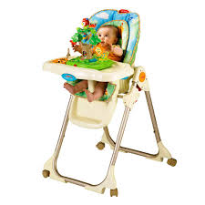 Fisher Price Ez Clean High Chair Fisher Price Rainforest Healthy Care High Chair High Chairs W3066