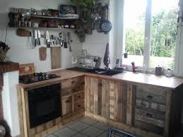 cuisine en palette bois decoration en cuisine gallery of decoration en cuisine with