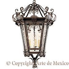mexican wrought iron lighting arte de mexico hf157 1 wrought iron lighting page lighting