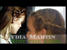 lydia martin hairstyles teen wolf lydia martin holland roden inspired hairstyle youtube