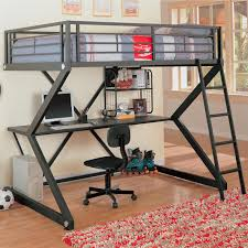 Metal Bunk Beds Full Over Full Metal Bunk Bed With Desk 80 Cool Ideas For Full Over Bunk Beds