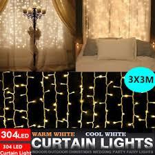 Indoor Curtain Fairy Lights 304led Indoor Outdoor Christmas String Fairy Wedding Curtain