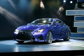 lexus rc f exhaust 2015 lexus rc f debuts at 2014 detroit auto show automobile magazine
