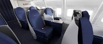 Delta Comfort Plus Seats Delta Unveils New 757 200 Transcon Interior U2013 Upgrade Coming To