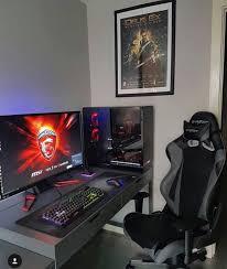 Big Gaming Desk Gaming Desks Big Gaming Desk And Gaming Setup
