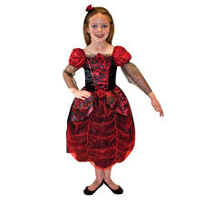 girls gothic ball gown costume age 9 11 years 1 pc amscan