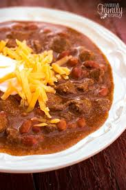 cuisine texane chili with big tender beef slices favorite family recipes