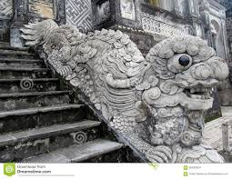 qilin statue qilin asian mythological statue stock photo image 58343924