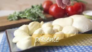 recette pour faire de la mozzarella maison