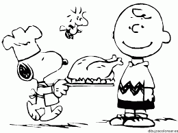charlie brown thanksgiving coloring pages getcoloringpages