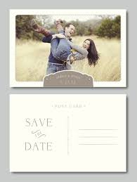 wedding wishes professional save the date photo templates weddings postcard