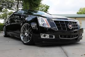 custom 2009 cadillac cts wheel offset 2011 cadillac cts coupe nearly flush dropped 3