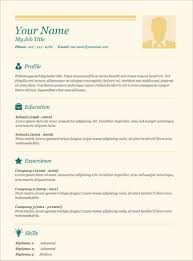 Cashier Resume Templates Free Free Easy Resume Resume Template And Professional Resume