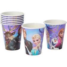 party cups frozen magic paper party cups 9 oz 8ct walmart