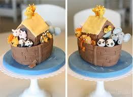 Noah S Ark Decorations Noah U0027s Ark Cake The Sew Er The Caker The Copycat Maker