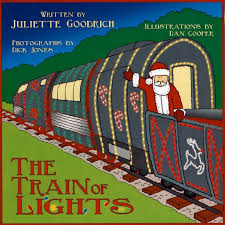 sunol train of lights book signing for the train of lights by juliette goodrich at niles