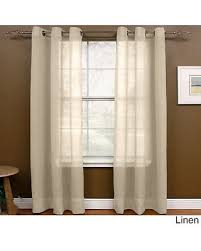 84 Inch Curtains Amazing Deal On Miller Curtains 84 Inch Grommet Top Sheer