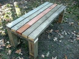 Backyard Bench Ideas Outdoor Bench Color Ideas Diy Garden Work Bench Plans Easy Garden