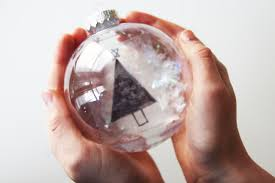 diy snow globe ornaments the best ideas for