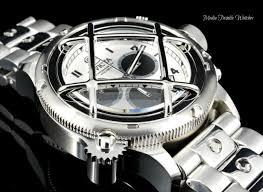 bracelet watches ebay images 52mm invicta russian diver nautilus quartz chronograph all silver jpg