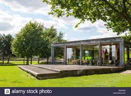 thames barrier park opening hours thames barrier park cafe london uk stock photo 178757509 alamy