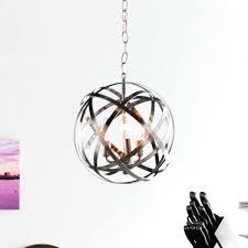 Sphere Pendant Light Chrome Ball Pendant Light U2013 Nativeimmigrant
