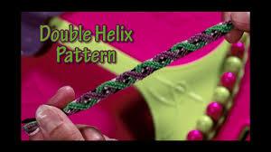 double friendship bracelet images Friendship bracelet double helix pattern design instructions on jpg