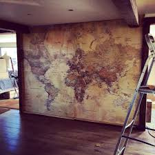 Designs For Living Room 25 Best World Map Wall Ideas On Pinterest Bedroom Wallpaper