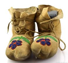 plateau beaded moccasins native american beadwork early indian