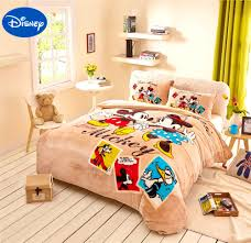 Mickey And Minnie Mouse Bedroom Set Bedroom Surprising Popular Mickey Mouse Comfort Bedding Set Full