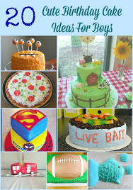 20 cute birthday cake ideas boys kid u0027s fun review