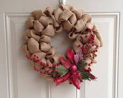 burlap christmas burlap christmas wreath jackson district library