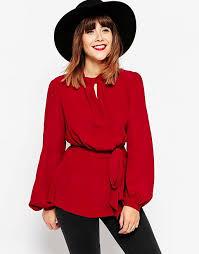 keyhole blouse asos megan x asos tops 70s keyhole blouse