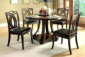 4 chair dining table set round wooden table and chairs hangrofficial com
