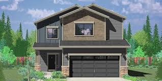 Affordable Small Homes Narrow Lot House Plans Building Small Houses For Small Lots