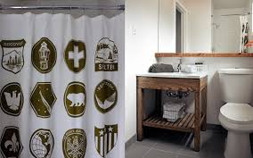 Rustic Industrial Bathroom - basecamp rustic modern boutique hotel euro style home blog