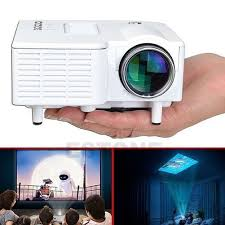 led tv home theater package mini projector 1080p hd multimedia led tv vga hdmi usb for home