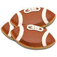 football favors football gifts football cookies bowl food bowl gifts