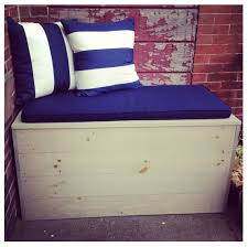 Outdoor Storage Bench Diy by 21 Best Garden Storage Images On Pinterest Outdoor Storage