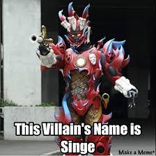 Power Ranger Meme - he s name is singe power rangers know your meme