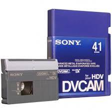hdv cassette cassette vid礬o sony dvcam hdv 41 mytek