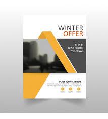 flyer design winter offer design